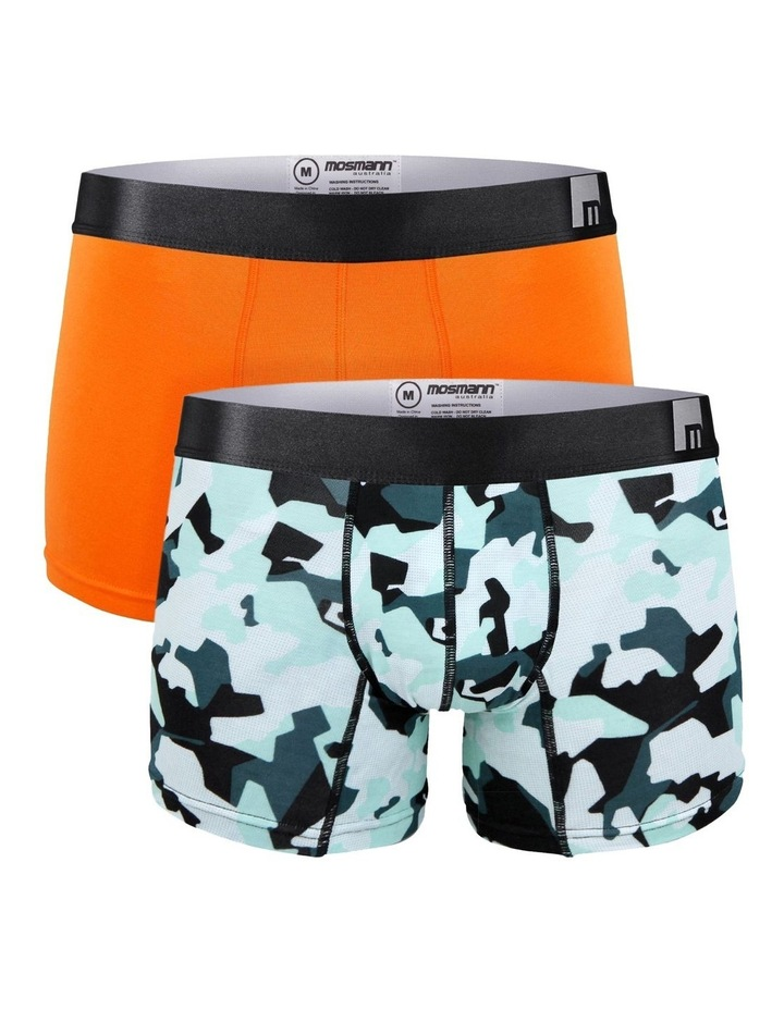 Orange Army Boxer Brief Pack image 1