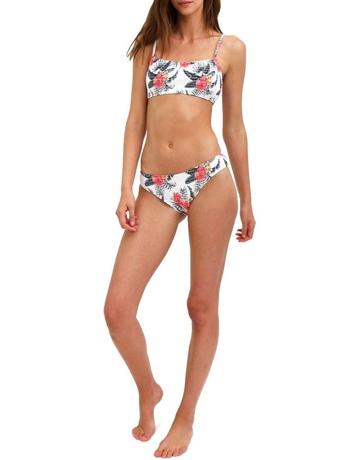 Smocked Floral Two Piece Bikini image 3