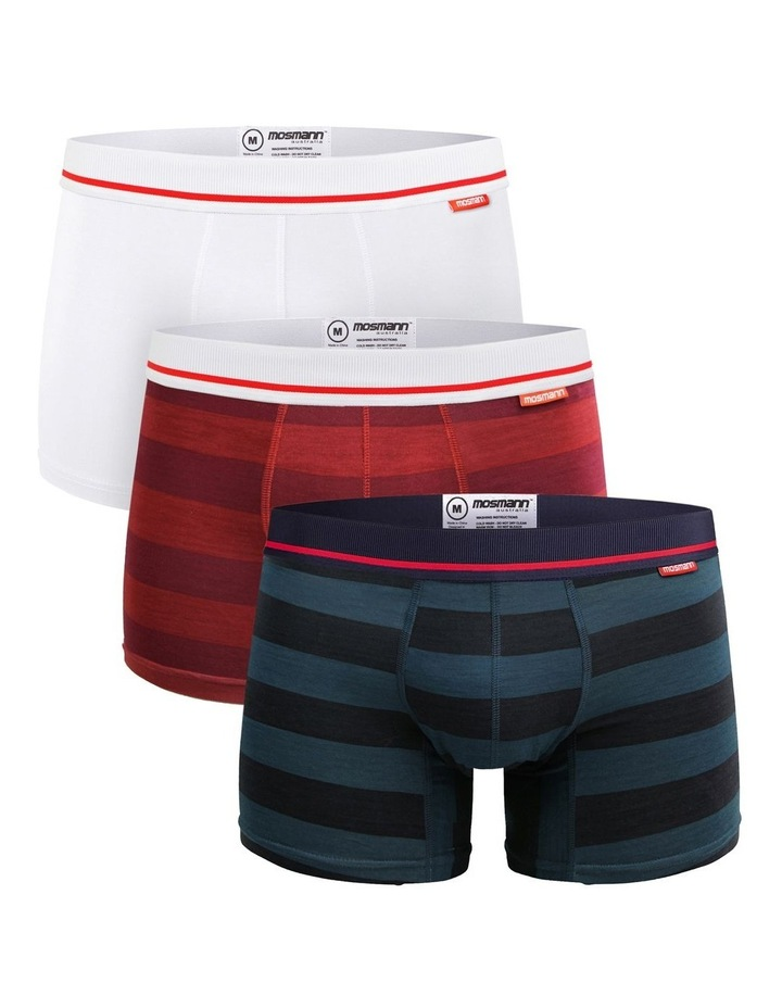 Bamboo 3 Pack Trunks - Ivy League image 1