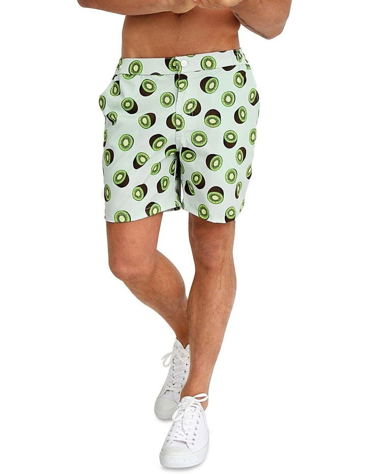 Mens Resort Swim Shorts - Kiwi image 1