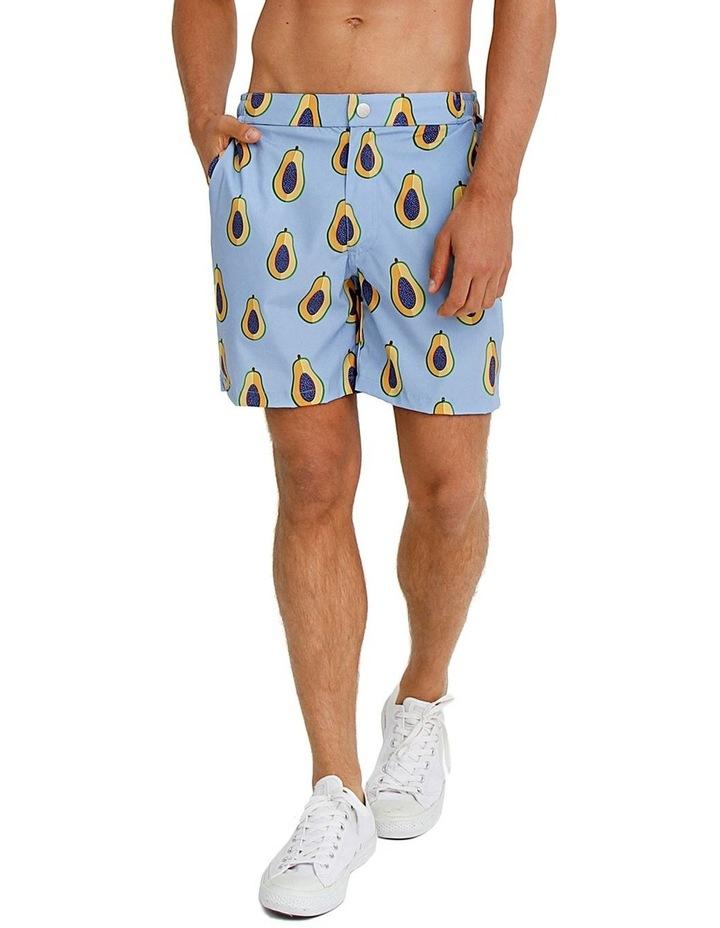 Mens Resort Swim Shorts - Papaya image 1