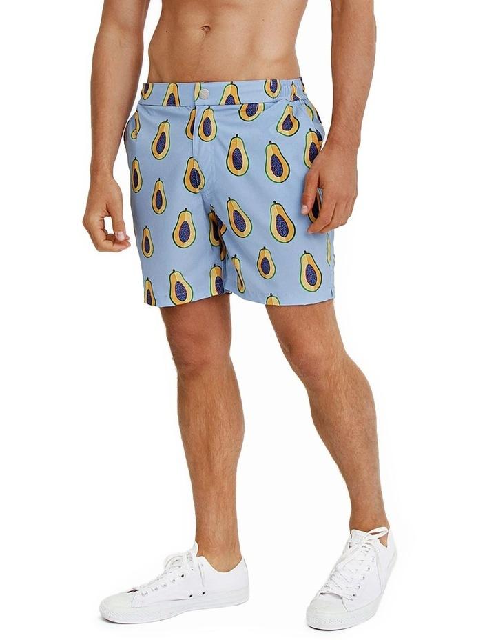 Mens Resort Swim Shorts - Papaya image 2