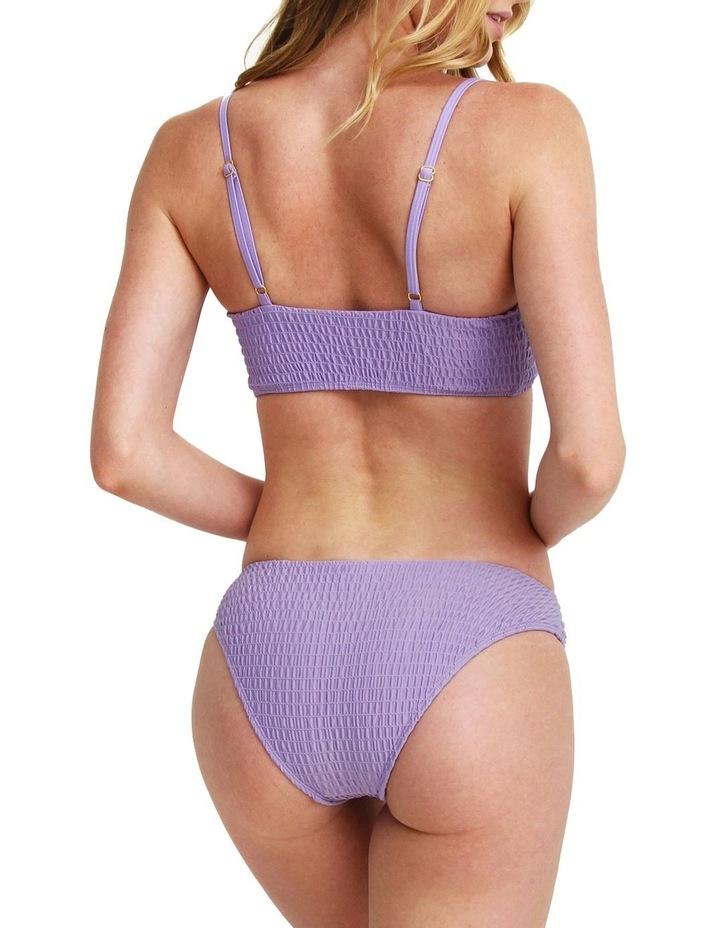 Two Piece Smocked Bikini - Mauve image 2