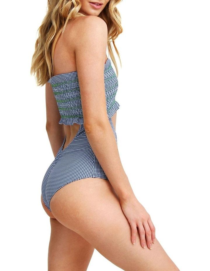 One Piece Navy Gingham Swimsuit - Zoe image 4