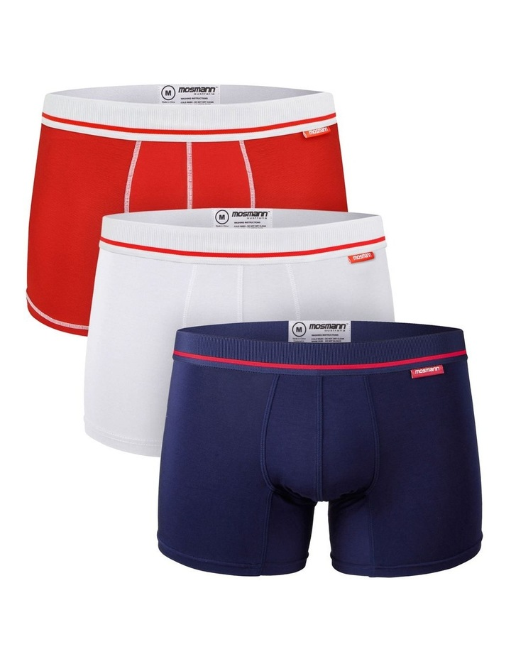 Bamboo Trunks 3-Pack Underwear - Francios image 1
