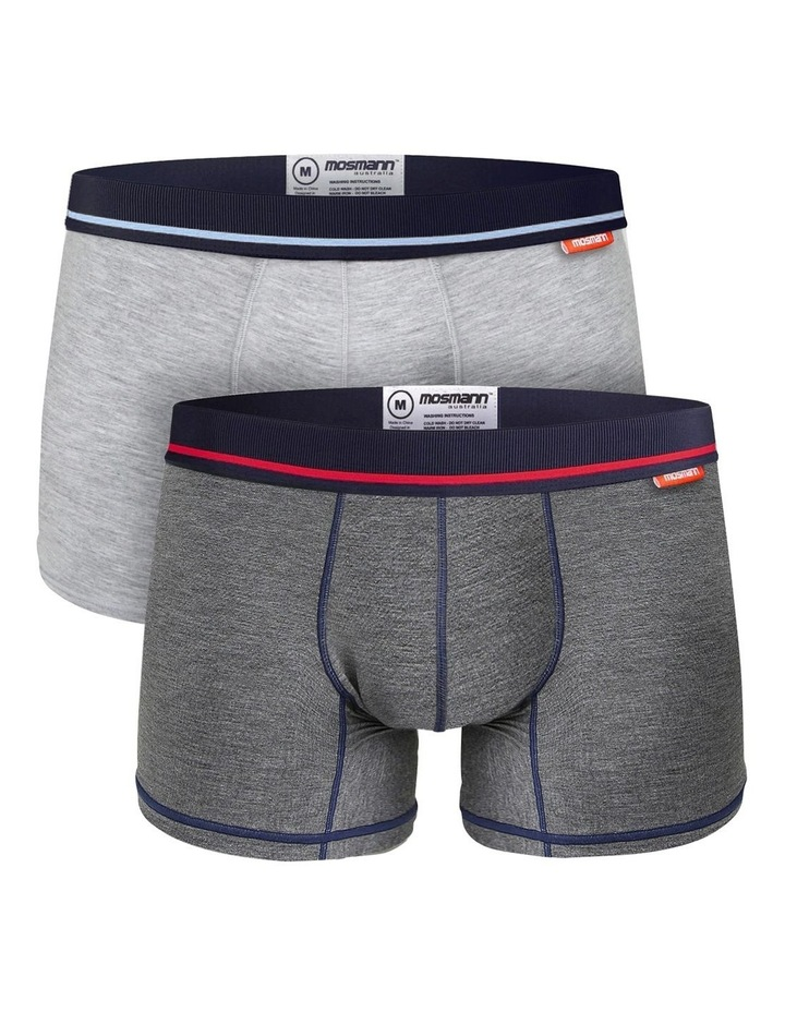 Bamboo Trunks 2-Pack Underwear - Marley image 1