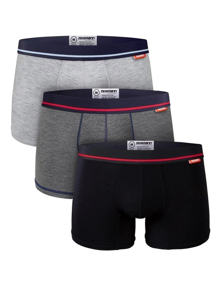 Bamboo Trunks 3-Pack Underwear - Dorian image 1