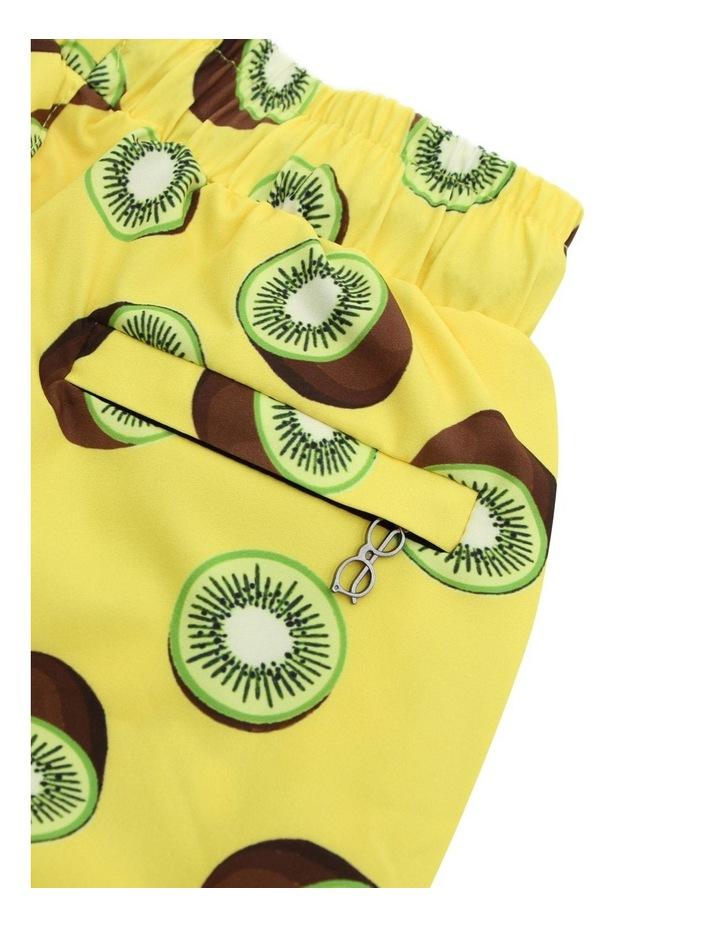 Boy's Tailored Swim Shorts - Kiwi Yellow image 3