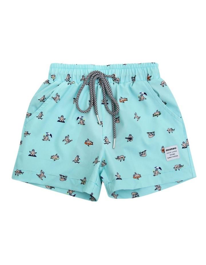 Boy's Tailored Swim Shorts - Rocket image 1
