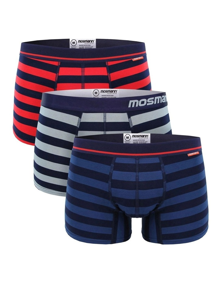 Bamboo Undewear 3-Pack - Rugby image 1
