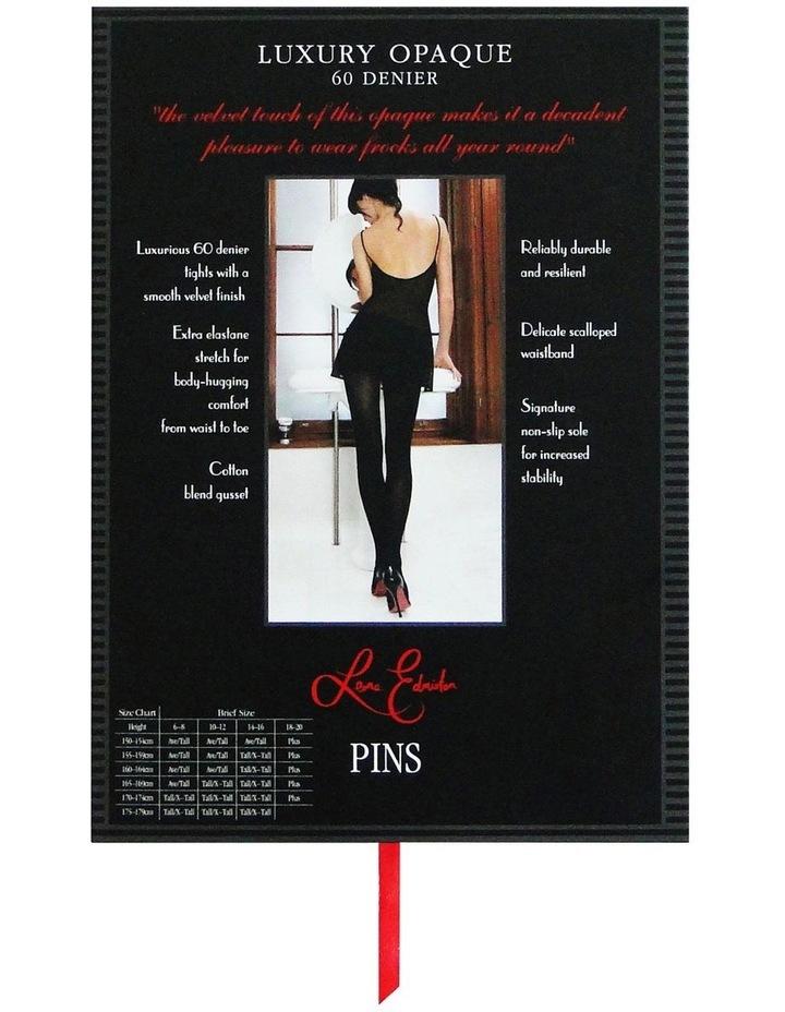 60D Luxury Opaque Hosiery Single image 3