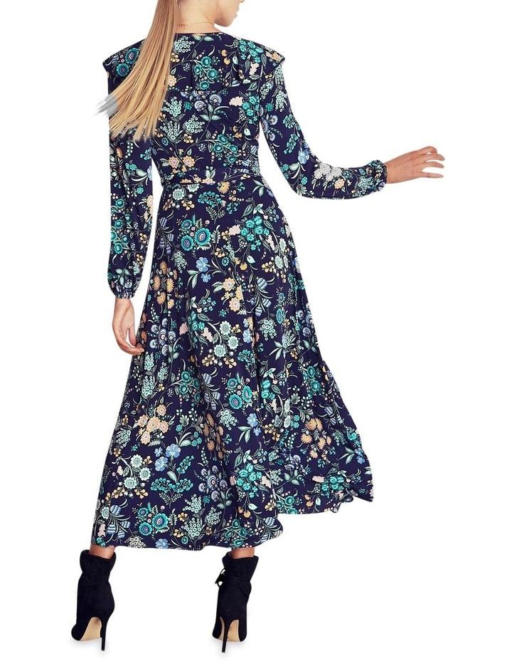Katenka Print Frill Midi Dress image 2
