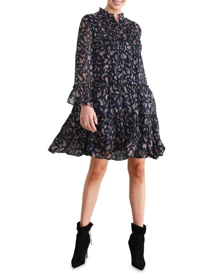 Rani Frill Tiered Shift Dress image 1