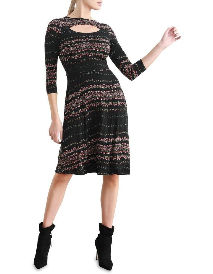 Delfina Fit & Flare Dress image 2