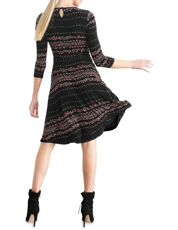 Delfina Fit & Flare Dress image 3