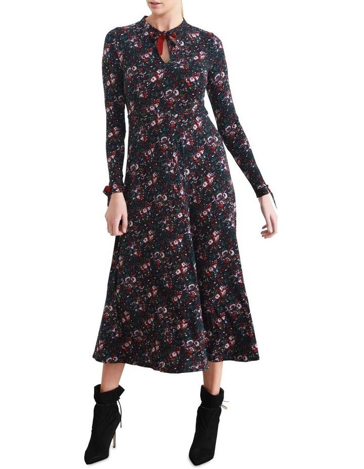 Vienna Fit & Flare Midi Dress image 1