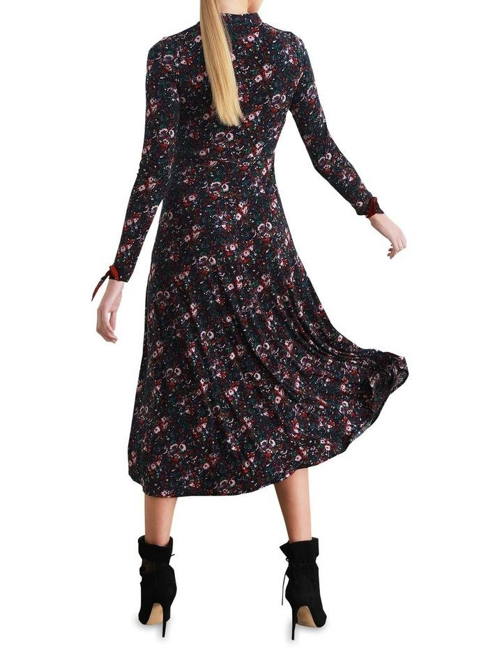 Vienna Fit & Flare Midi Dress image 3
