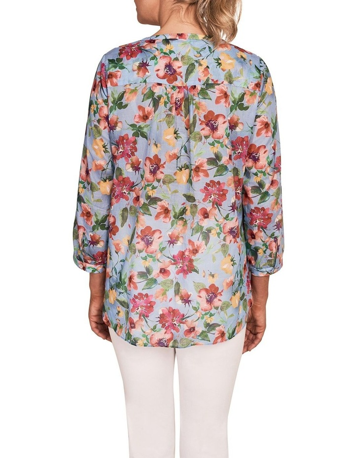 French Cotton Floral Shirt image 2
