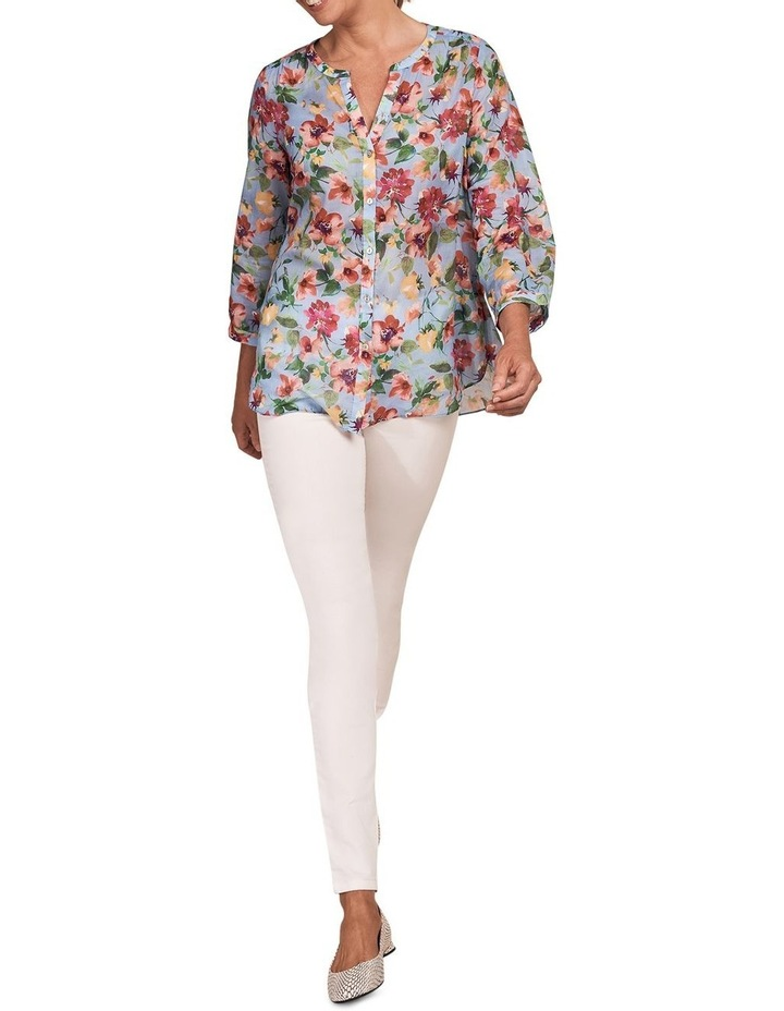 French Cotton Floral Shirt image 3