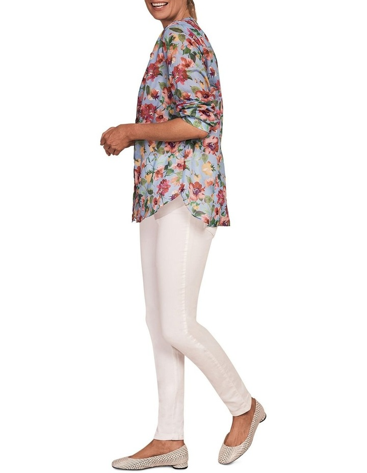 French Cotton Floral Shirt image 4