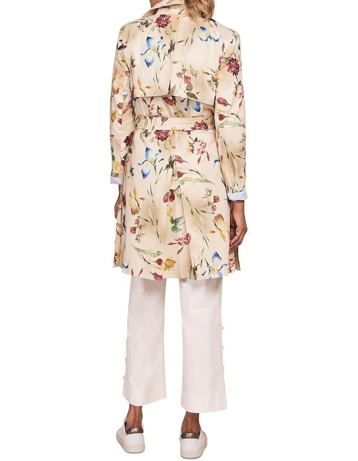 Printed Trench Coat image 2