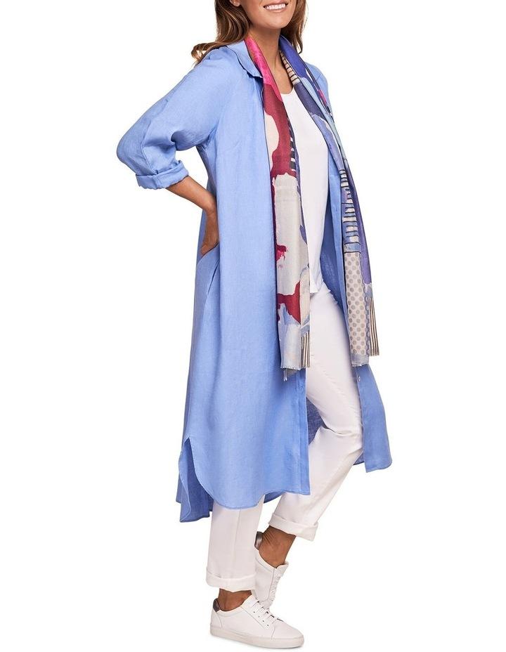 French Linen Shirt Dress image 2