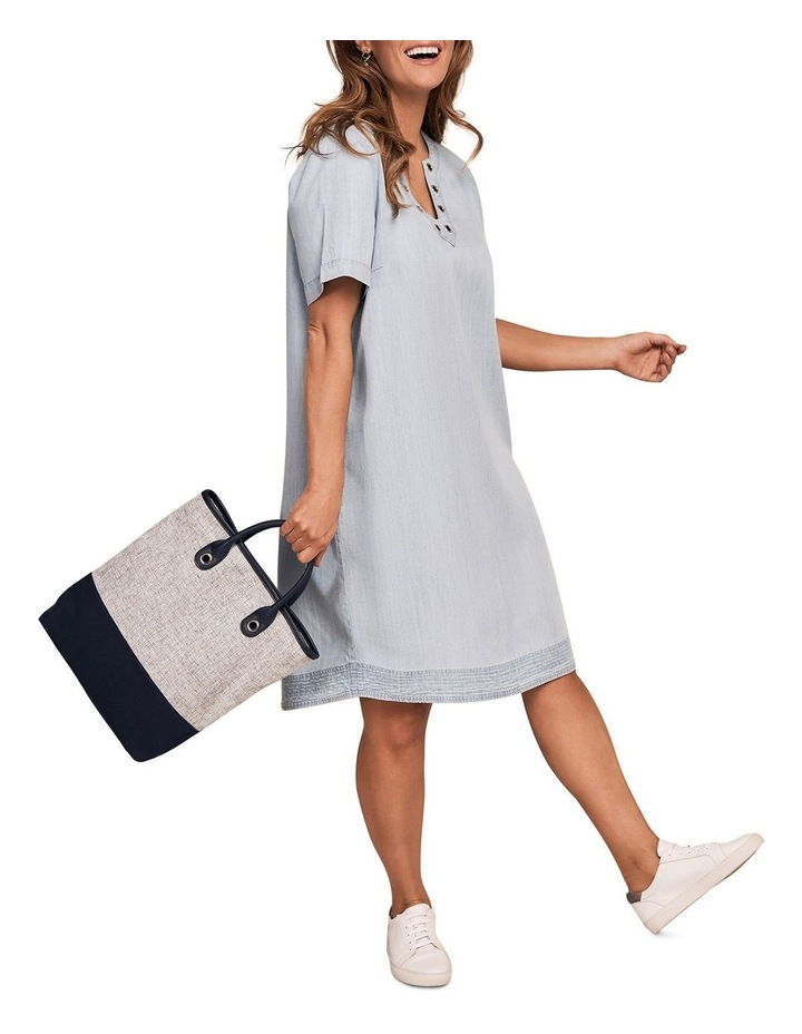 Tencel Eyelet Dress image 2