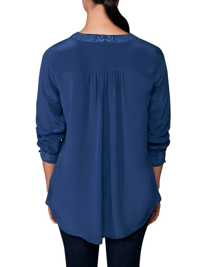 Embroidered Silk Blouse image 3