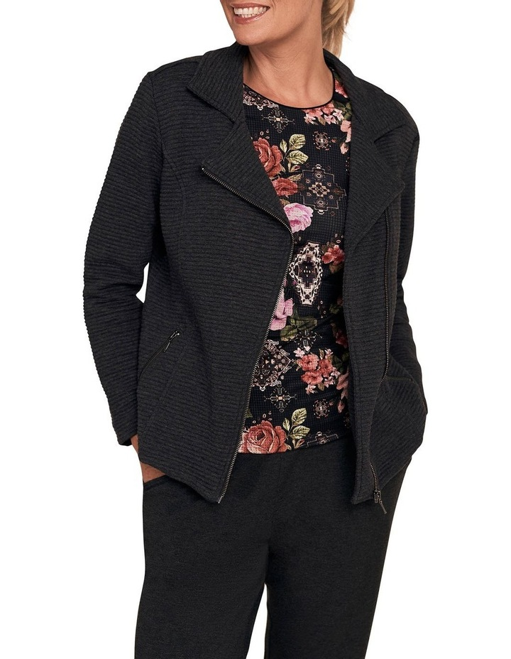 Quilted Ponte Jacket image 1