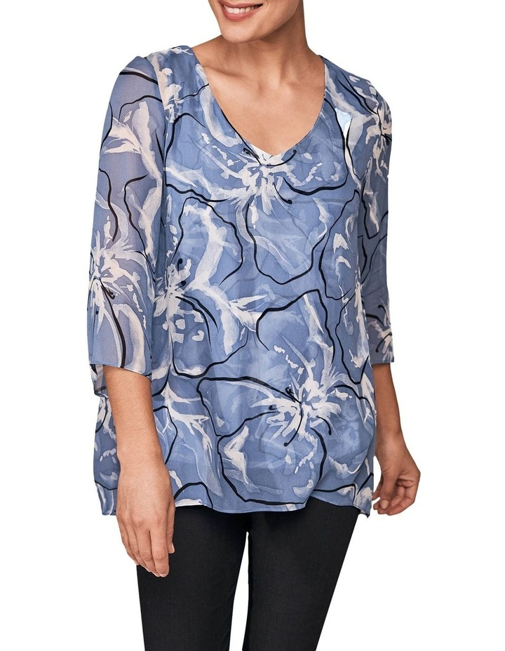 Floral Overlay Top image 1