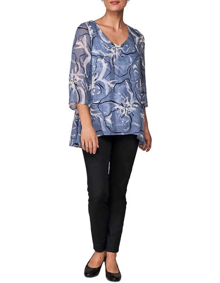 Floral Overlay Top image 3