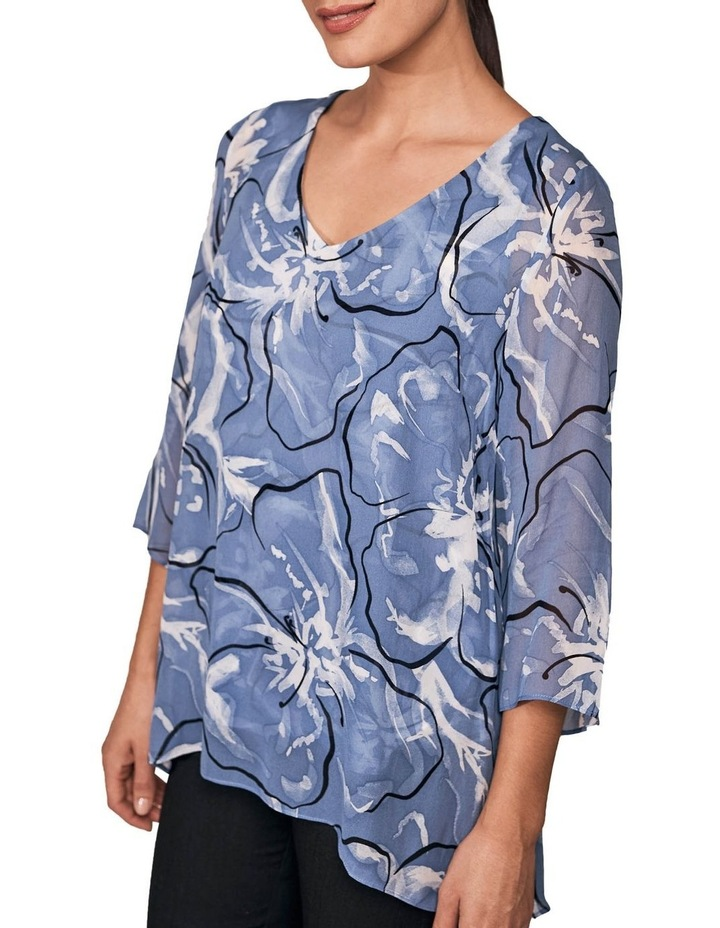 Floral Overlay Top image 4