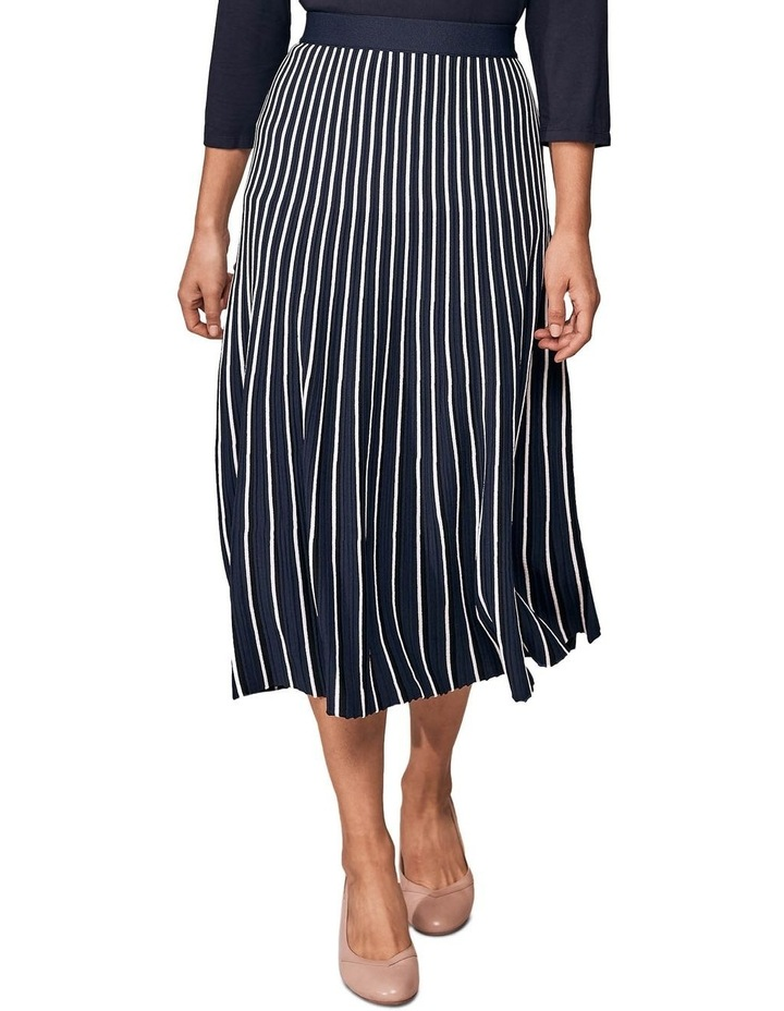 Stripe Knit Skirt image 1