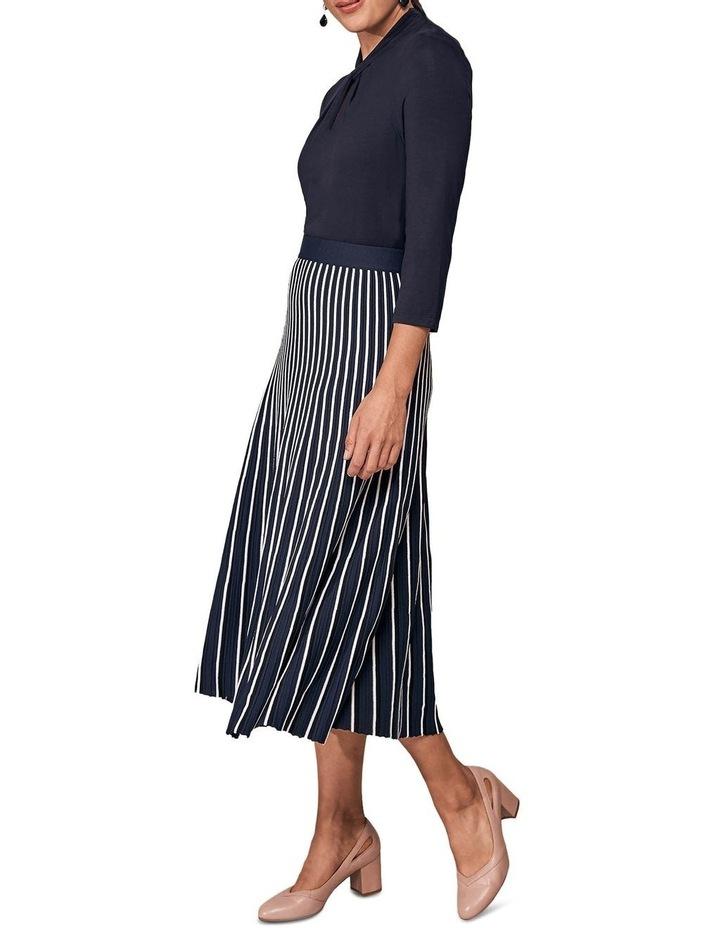 Stripe Knit Skirt image 2