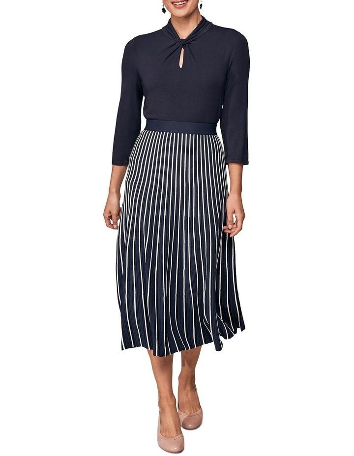 Stripe Knit Skirt image 4