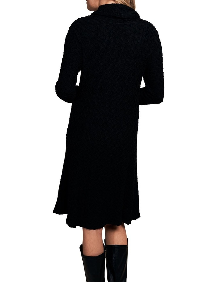 Cowl Neck Textured Dress image 2