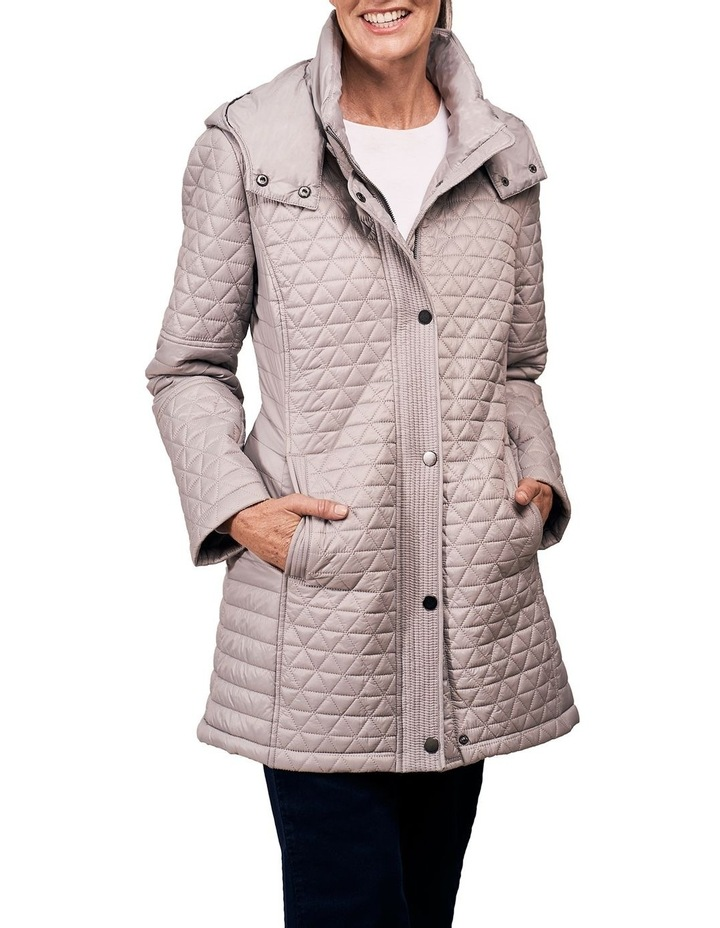 Quilted Coat image 1