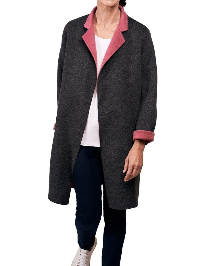 Reversible Wool Coat image 2
