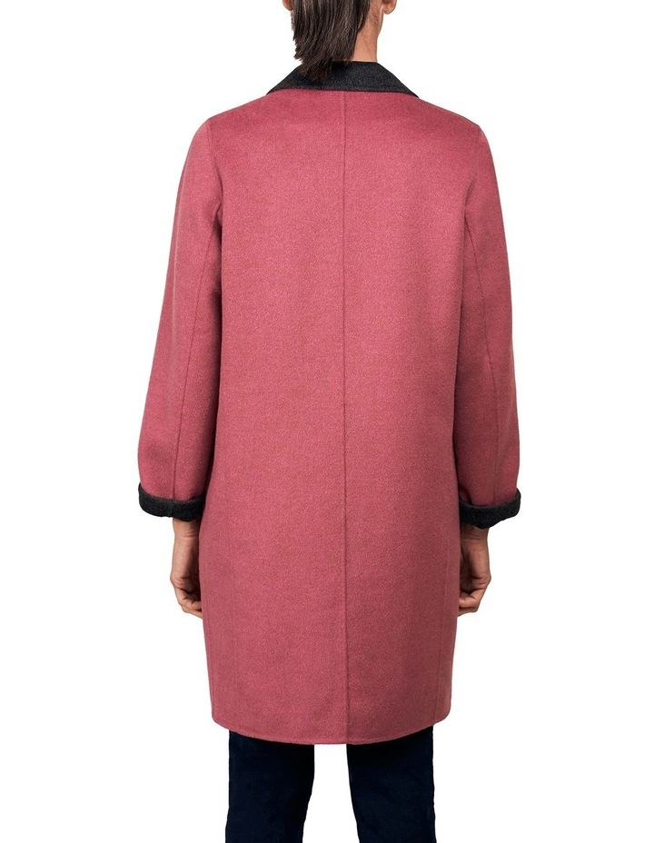 Reversible Wool Coat image 3