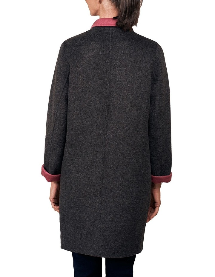 Reversible Wool Coat image 4