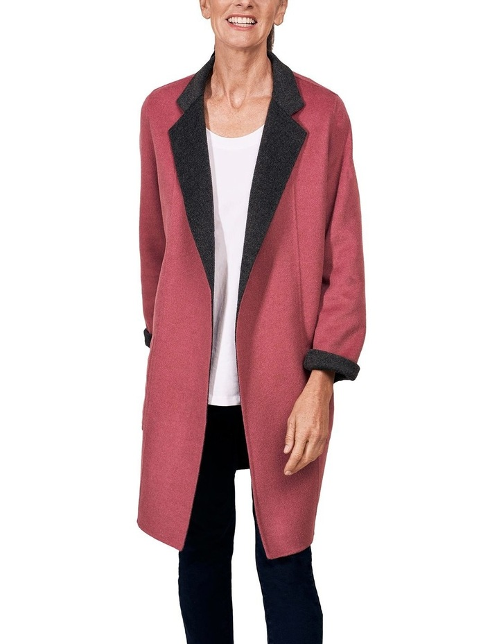 Reversible Wool Coat image 5