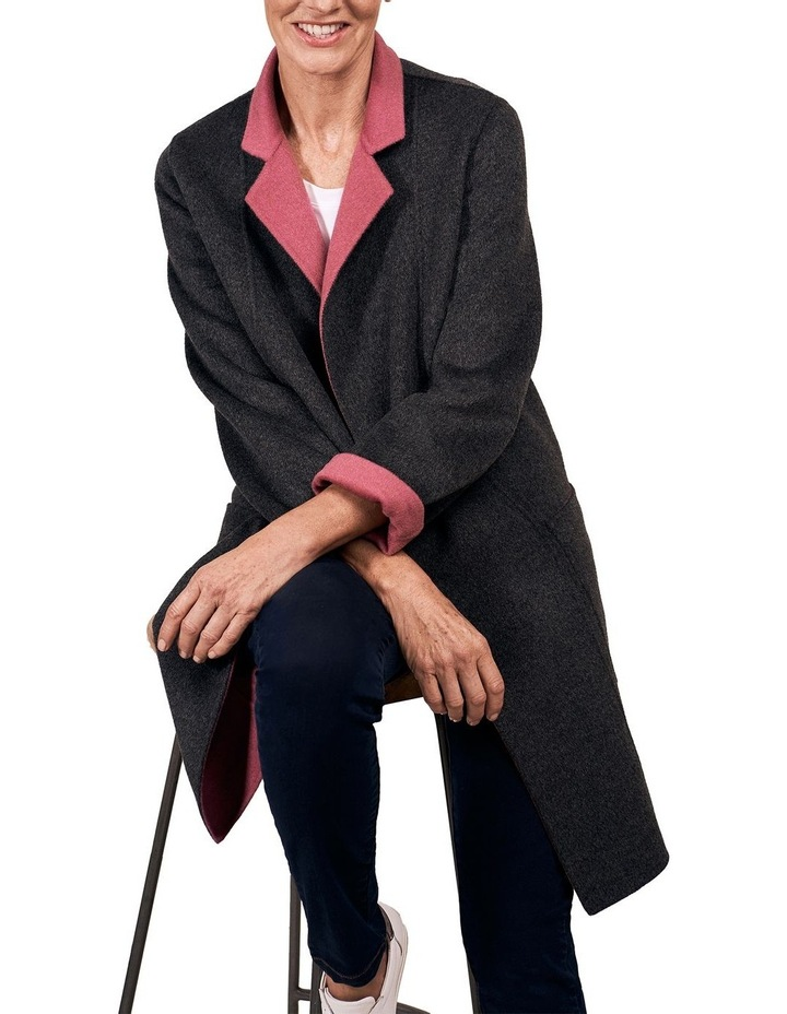 Reversible Wool Coat image 6