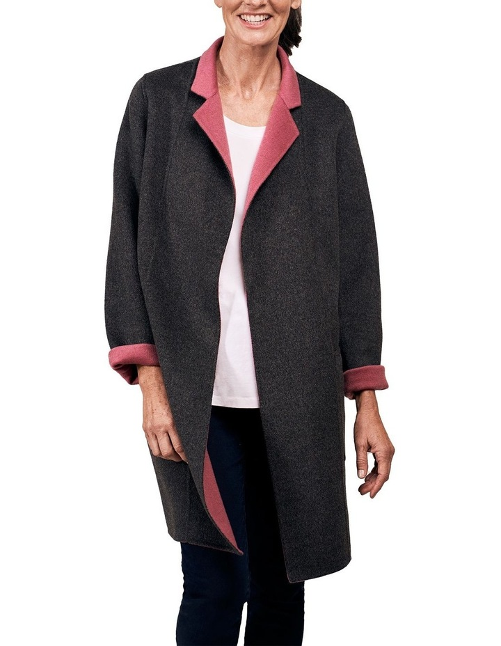 Reversible Wool Coat image 7
