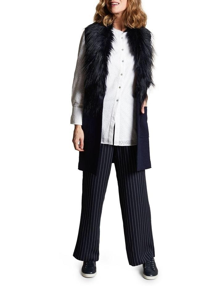 Sleeveless Wool Mix Vest image 1