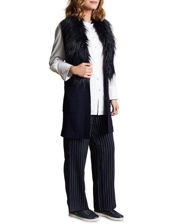Sleeveless Wool Mix Vest image 2