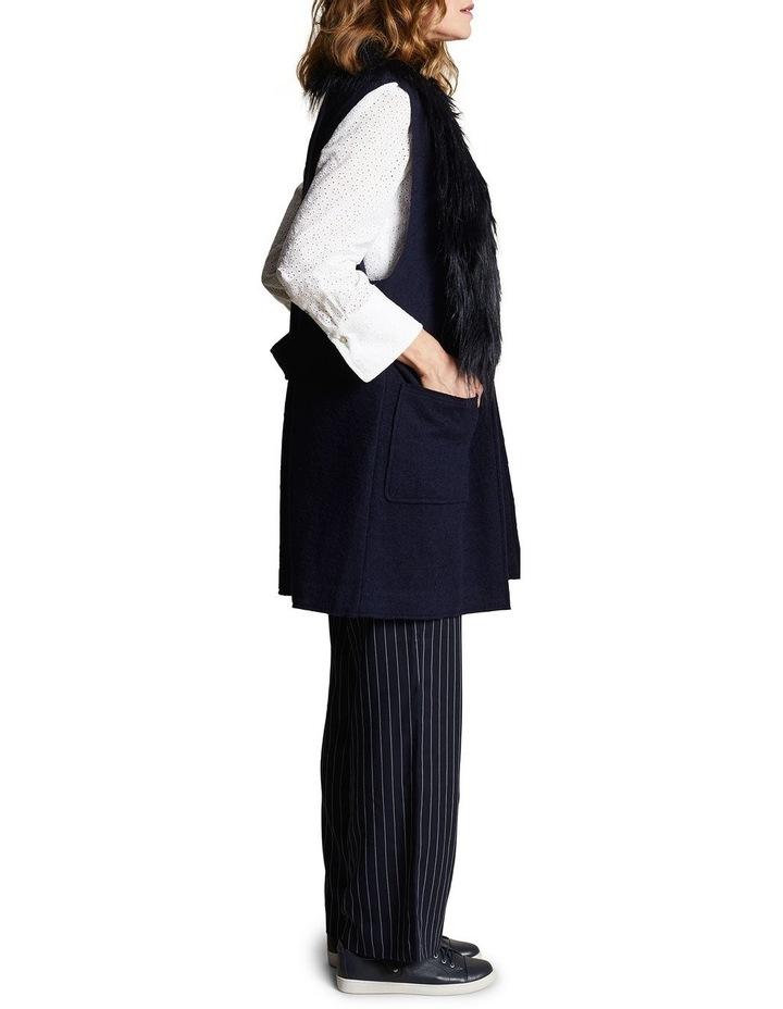 Sleeveless Wool Mix Vest image 3