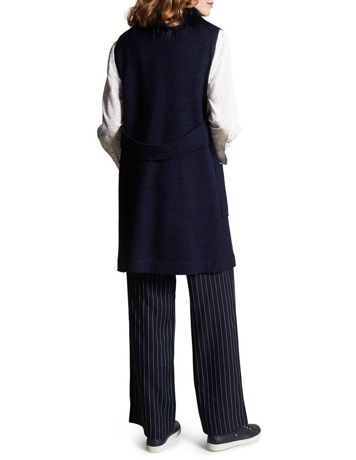 Sleeveless Wool Mix Vest image 4