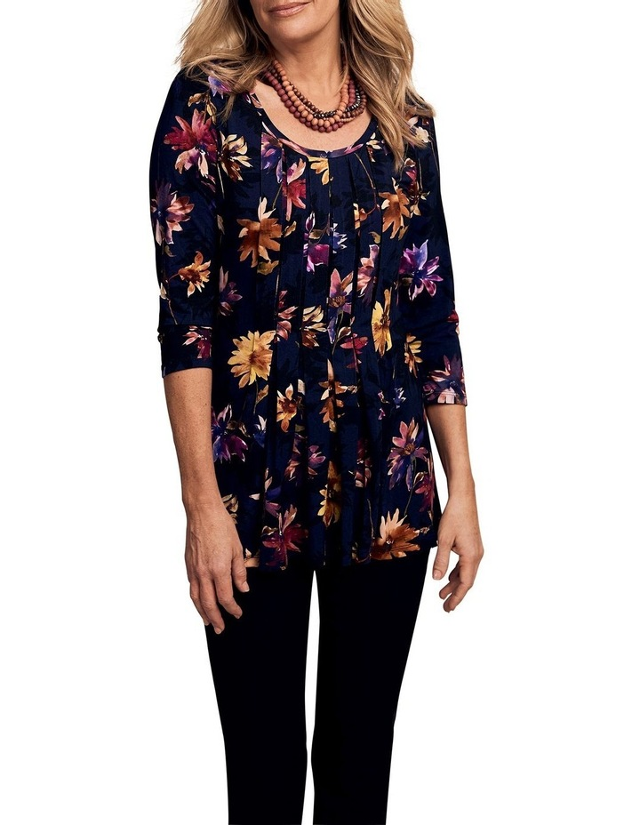 Pleated Jersey Top image 1