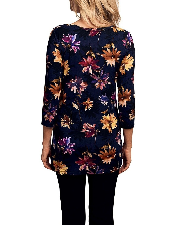 Pleated Jersey Top image 2