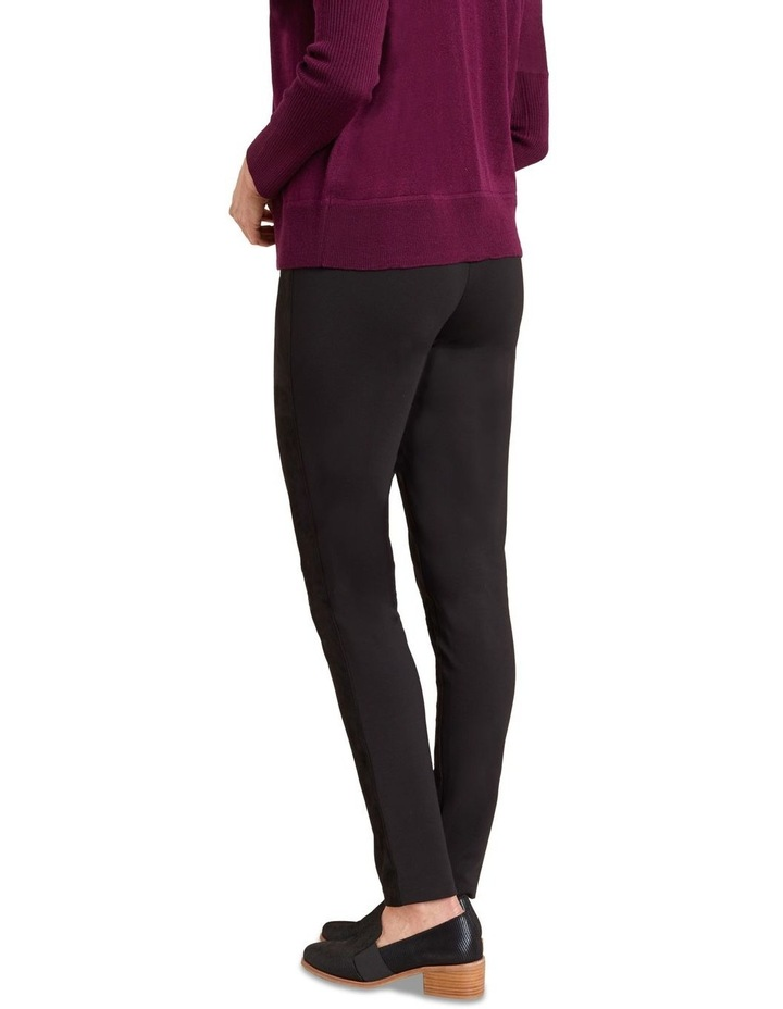 Faux Suede Panelled Legging image 5